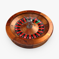 Preview image for 3D product Roulette Wheel 03 - European