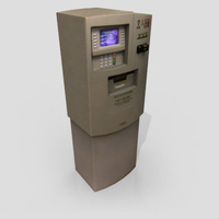 3D Model Download - Grocery - ATM