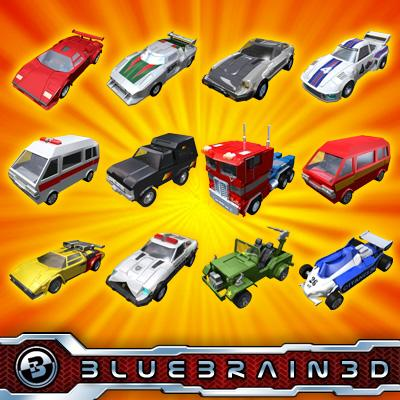 3D Models - Toy Car Collection