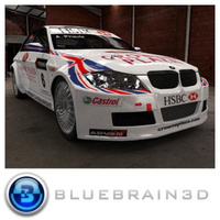 3D Model Download - 2009 World Touring Championship Car