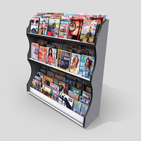 3D Model Download - Grocery - Magazine Rack