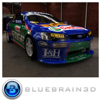 3D Model Download - 2009 Australian V8 Supercar