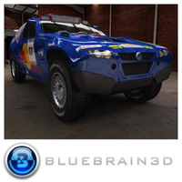 3D Model Download - 2008 Dakar Rally