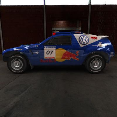 3D Model of 2008 Dakar Rally - 3D Render 5