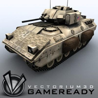 3D Model Download - Game Ready - Bradley M2A2