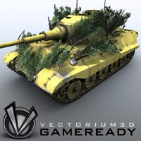 3D Model Download - Game Ready King Tiger 05
