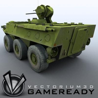 3D Model Download - Game Ready - ZSL 92 IFV 02