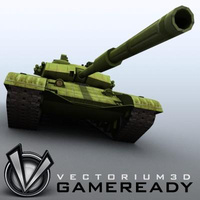 3D Model Download - Game Ready - ZTZ99 Type 99