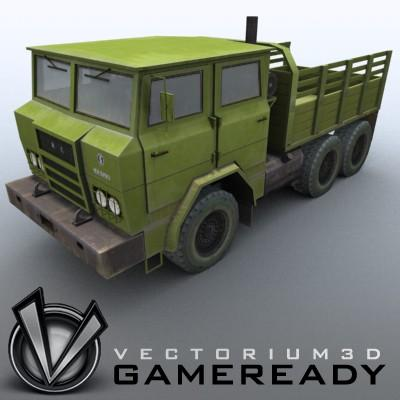 3D Models - Game Ready - Shaanxi SX2150