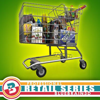 3D Model Download - Shopping Cart - Full