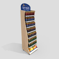 3D Model Download - Grocery - Vitamin Display