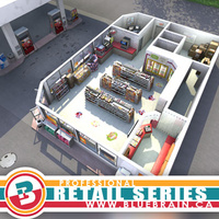 3D Model Download - Gas Station Scene