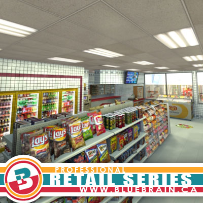 3D Models - Gas Station Scene