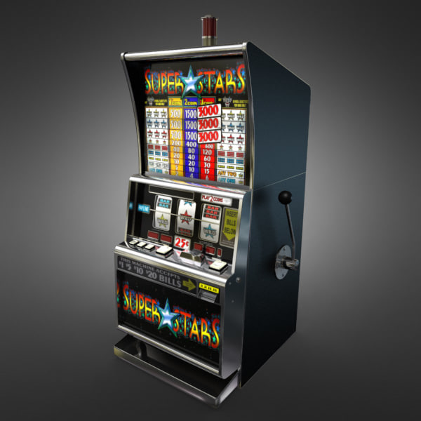 3D Model of Casino Collection :: Realistic Detailed Slot Machine 1. - 3D Render 1