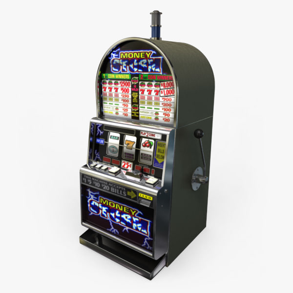 3D Model of Casino Collection :: Realistic Detailed Slot Machine 1. - 3D Render 0