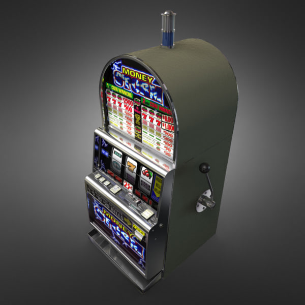 3D Model of Casino Collection :: Realistic Detailed Slot Machine 1. - 3D Render 4
