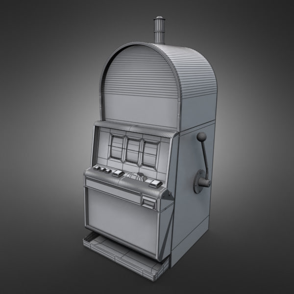 3D Model of Casino Collection :: Realistic Detailed Slot Machine 1. - 3D Render 7