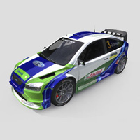 3D Model Download - Race Car - 2006 Ford WRC