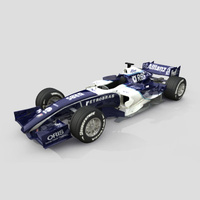 3D Model Download - Race Car - 2006 Williams F1