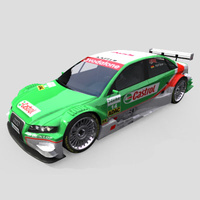 3D Model Download - Race Car - 2006 DTM