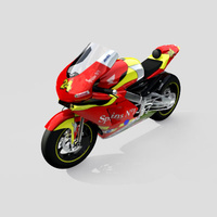 3D Model Download - Race Bike - 2006 MotoGP Bike