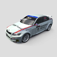 3D Model Download - Race Car - 2006 BMW WTCC