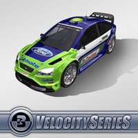3D Model Download - Race Car - 2007 Ford WRC