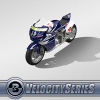 3D Model Download - Race Bike - 2007 MotoGP Bike