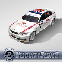 3D Model Download - Race Car - 2007 BMW WTCC