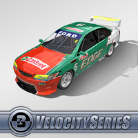 3D Model Download - Race Car - 2007 V8 Supercar
