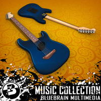 3D Model Download - Guitar - Strat 06