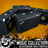 3D Model Download - Guitar Amp 05