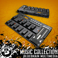 3D Model Download - Music FX - L6 Floor Board