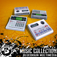 3D Model Download - Music FX - Drum Machines