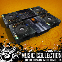 3D Model Download - DJ Gear Collection