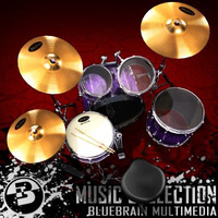 3D Model Download - Drums 02