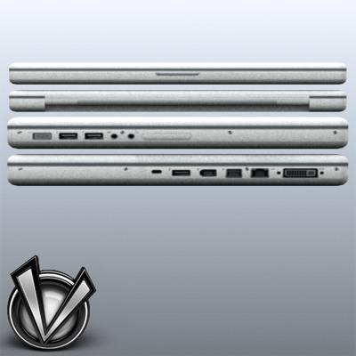 3D Model of Low-Poly, Game-Ready MacBookPro 17' - 3D Render 6
