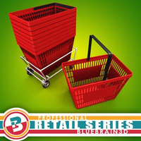 3D Model Download - Grocery Basket