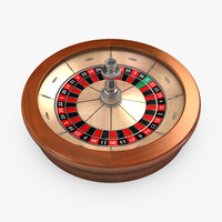 Preview image for 3D product Roulette Wheel 01 - European