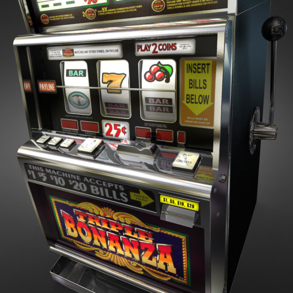 3D Model of Casino Collection :: Realistic Detailed Slot Machine 1. - 3D Render 5