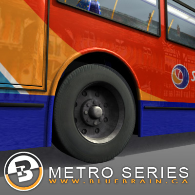 3D Model of Highly detailed London Bus. - 3D Render 7