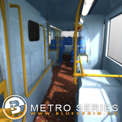 3D Model of Highly detailed London Bus. - 3D Render 9
